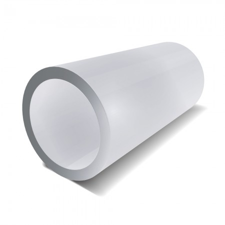 45 mm x 3 mm - Stainless Steel Dull Polished Tube