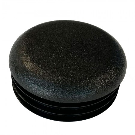 Round Tube End Cap 51 mm - Thick Wall top