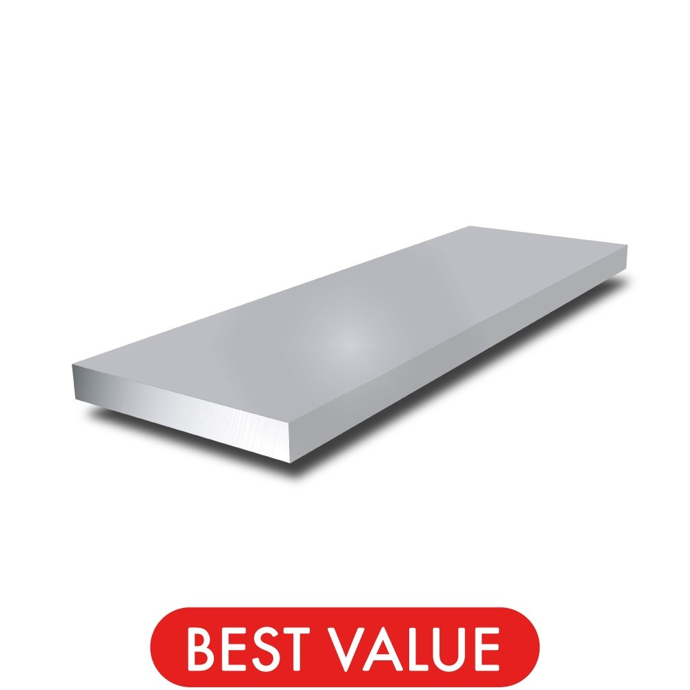 3/8 in x 1/8 in - Aluminium Flat Bar