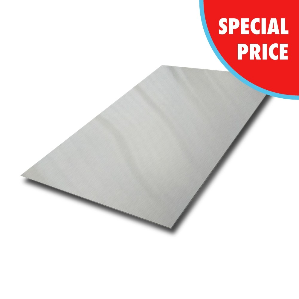 2000 mm x 1000 mm x 2.5 mm 304 Dull Polished Stainless Steel Sheet