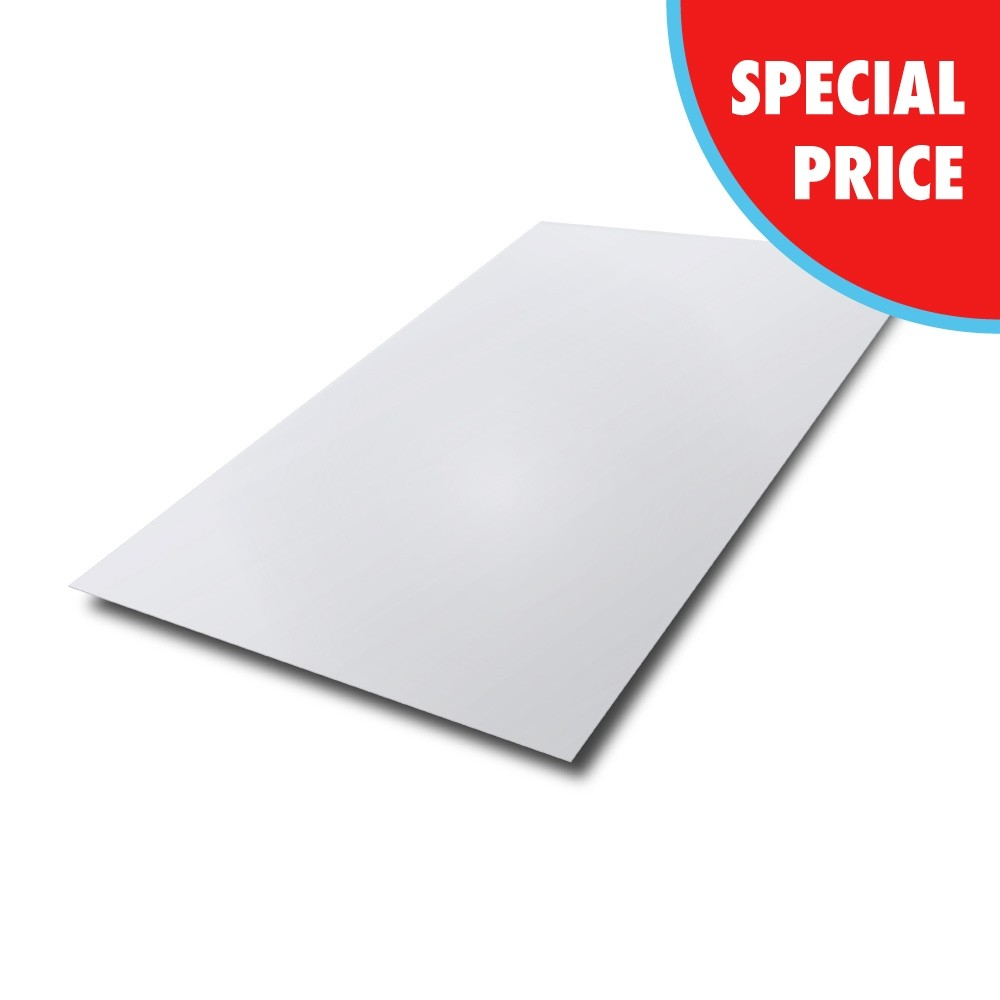 2000 mm x 1000 mm x 2.5 mm 316 2B Stainless Steel Sheet