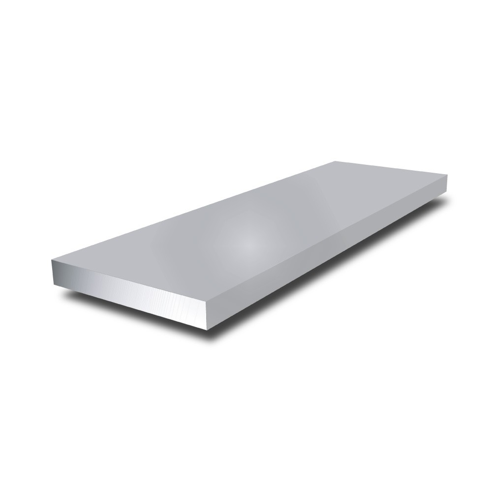 1 in x 1/16 in - Anodised Aluminium Flat Bar