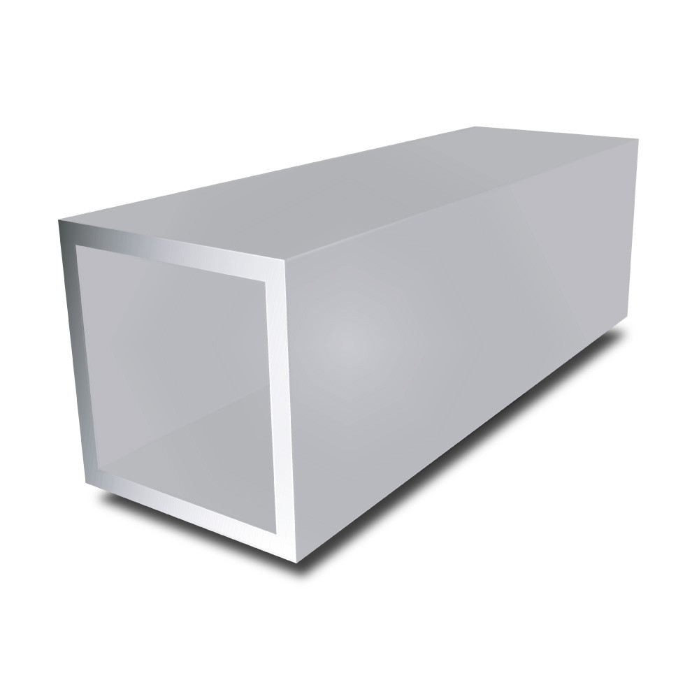 1/2 in x 1/2 in x 16 swg - Aluminium Square Tube