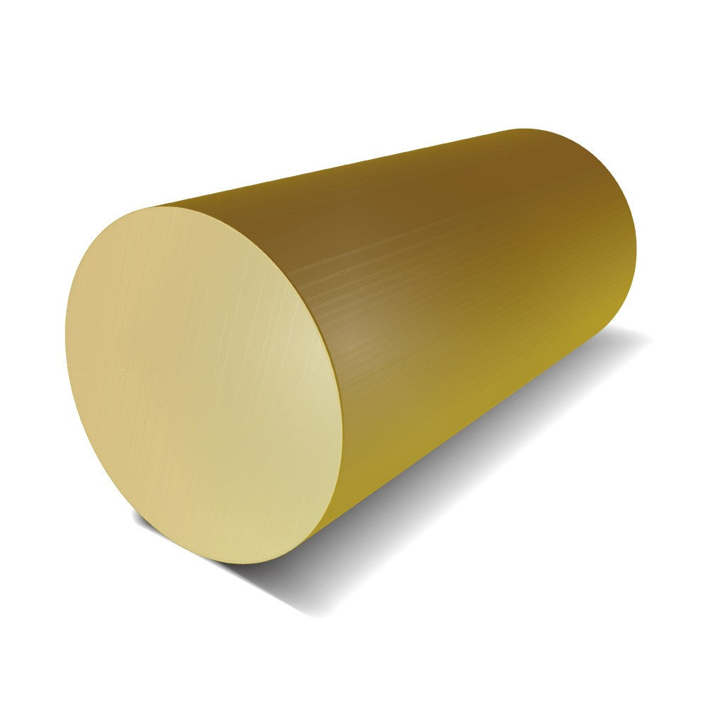 1/2 in Diameter - Brass Round Bar