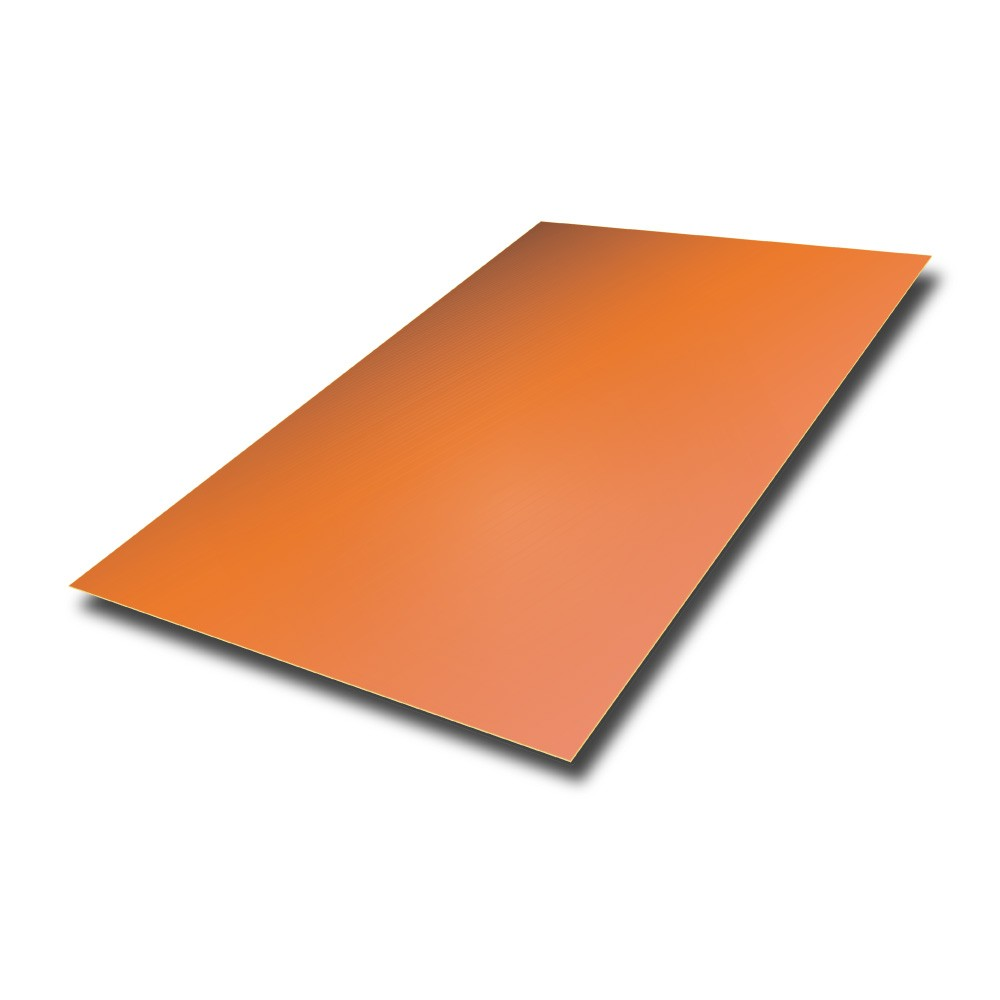 2000 mm x 1000 mm x 0.9 mm Copper Sheet