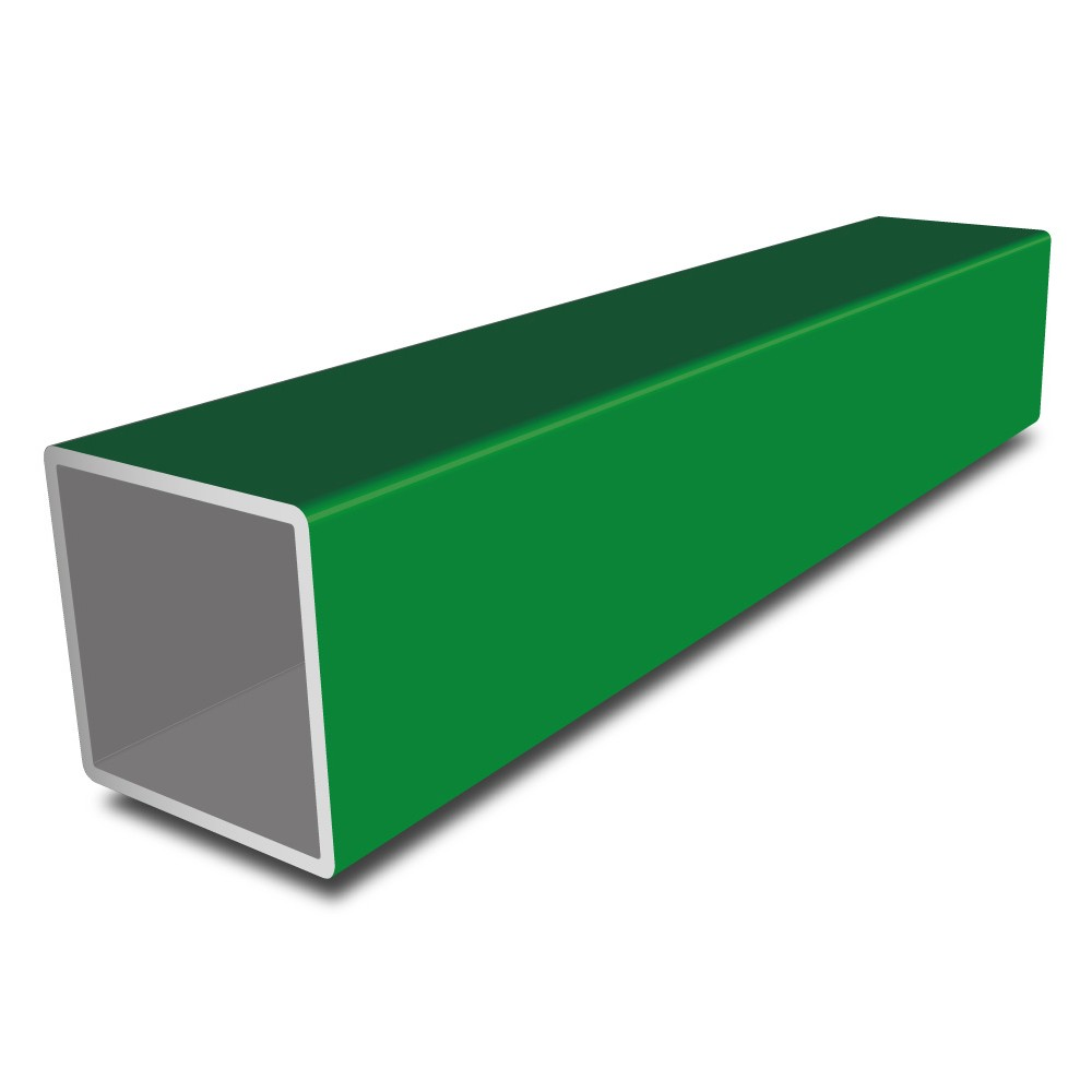 Easyfix Green Painted Aluminium Tube