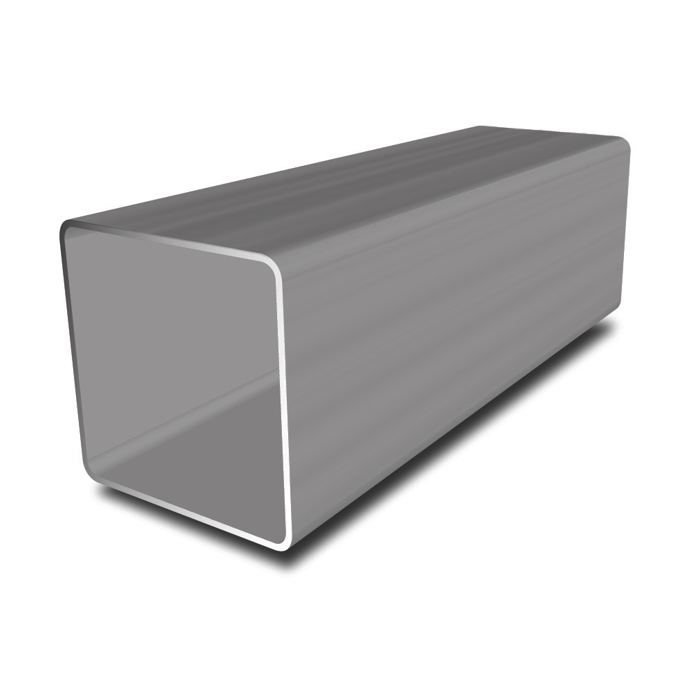 50.00 mm x 50.00 mm x 5.00 mm ERW Square Tube