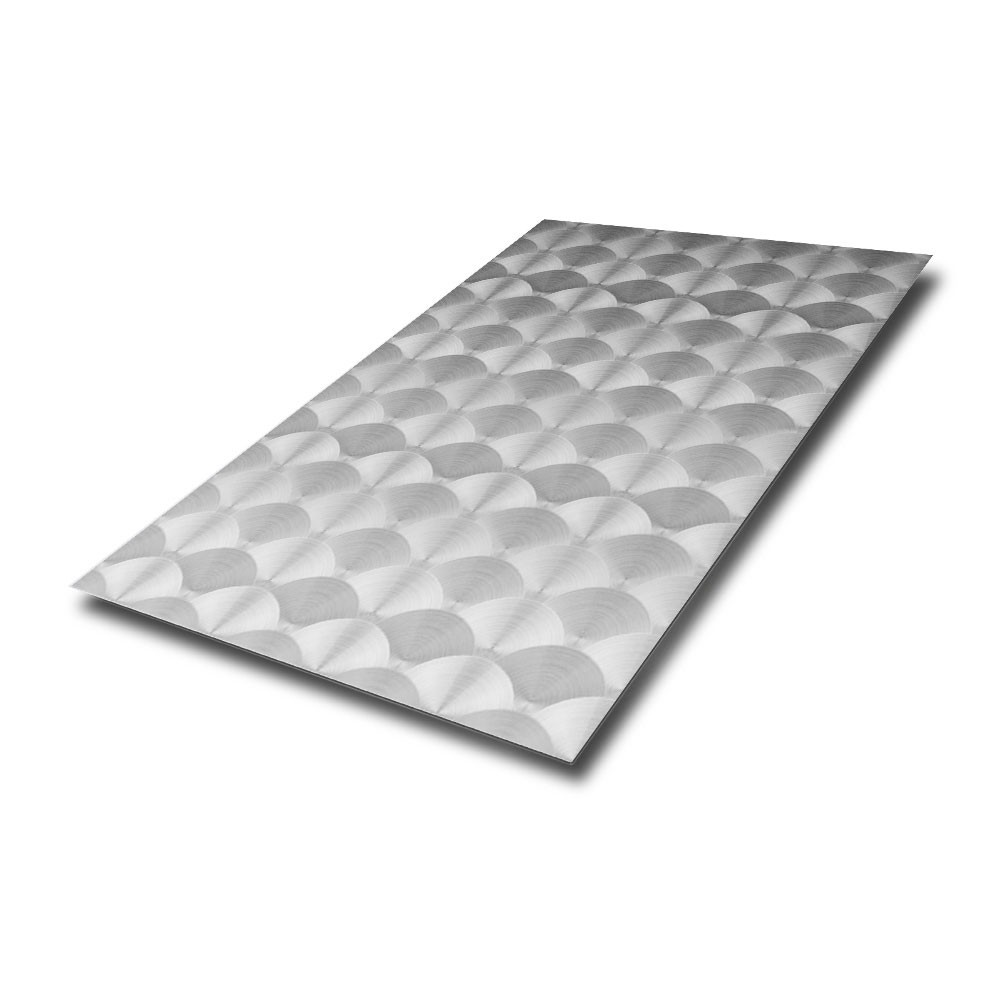 Circle Polished Stainless Steel Sheet