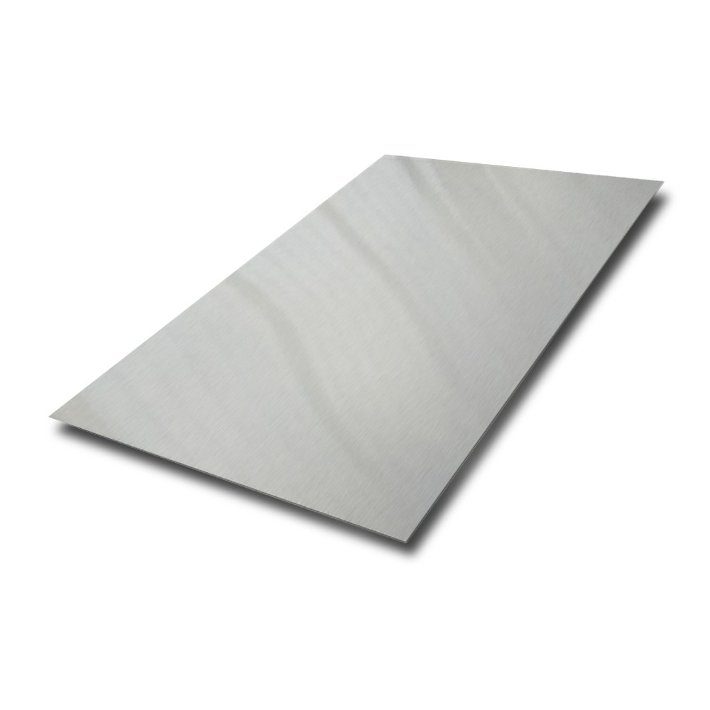 2500 mm x 1250 mm x 1 mm 304 Dull Polished Stainless Steel Sheet