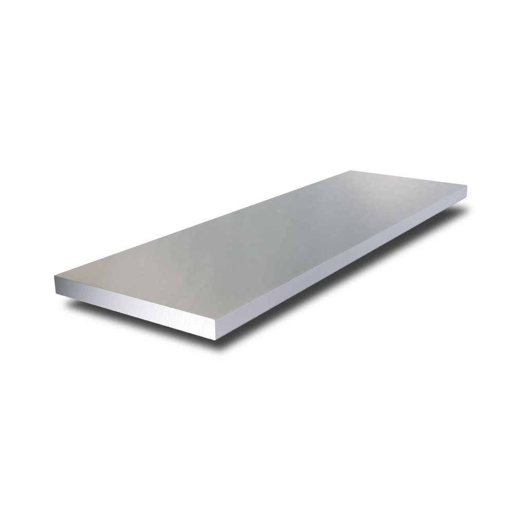 200 mm x 6 mm 316L Stainless Steel Flat Bar