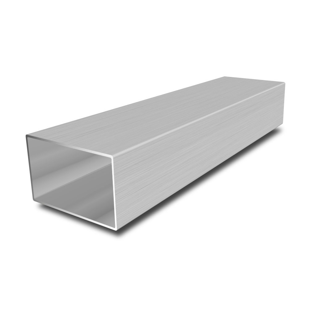 50 mm x 25 mm x 2 mm Stainless Steel Rectangular Tube