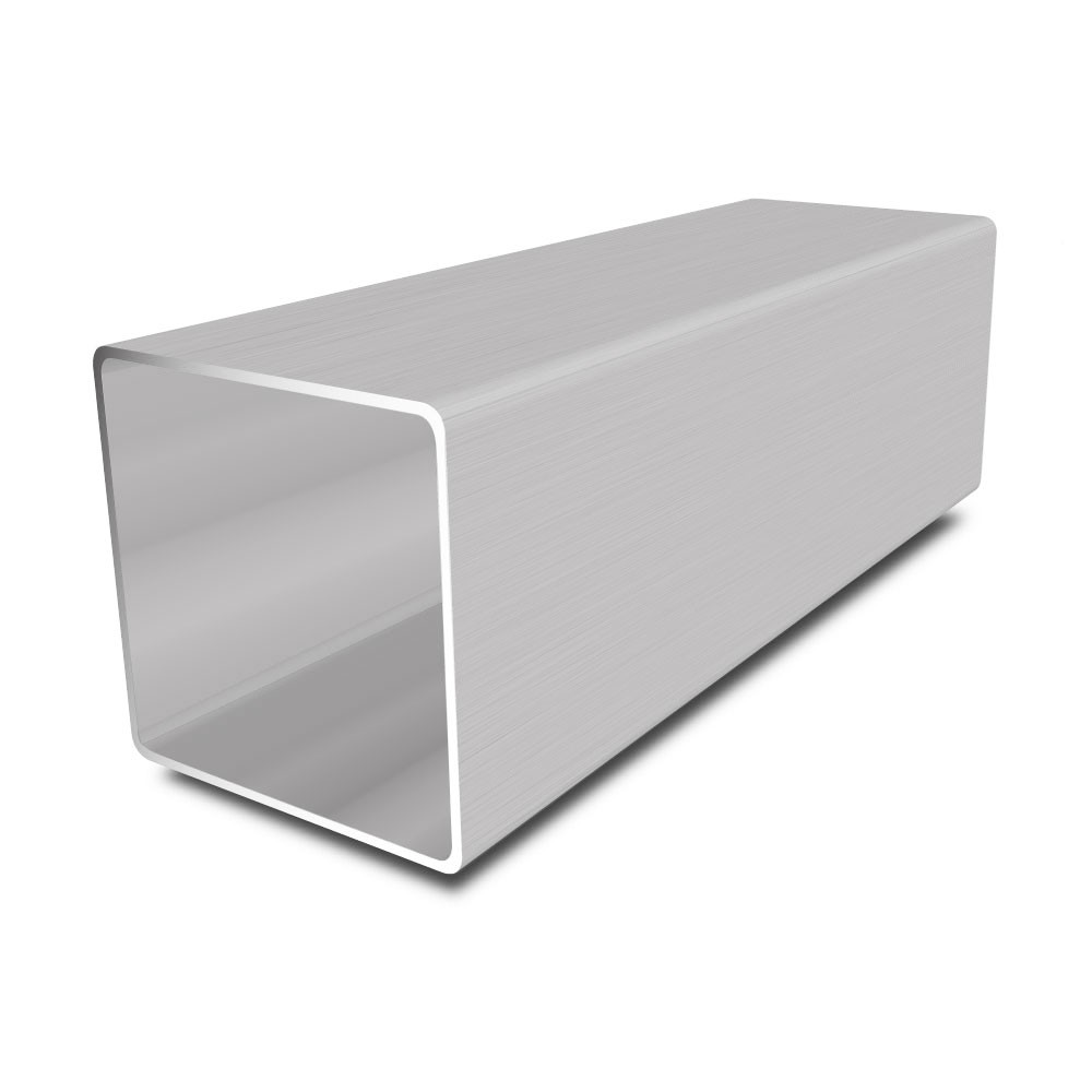 80 mm x 80 mm x 2 mm Stainless Steel Square Tube